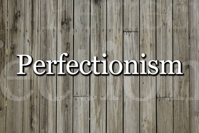 My Perfectionism Disorder